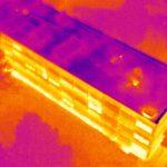Image thermique de bâtiment