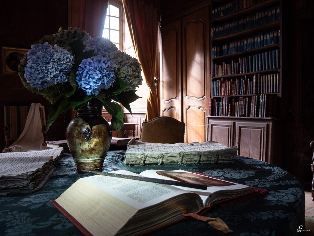 Bibliotheque Abbaye Royale de la Réau