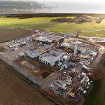 Photo de chantier par drone