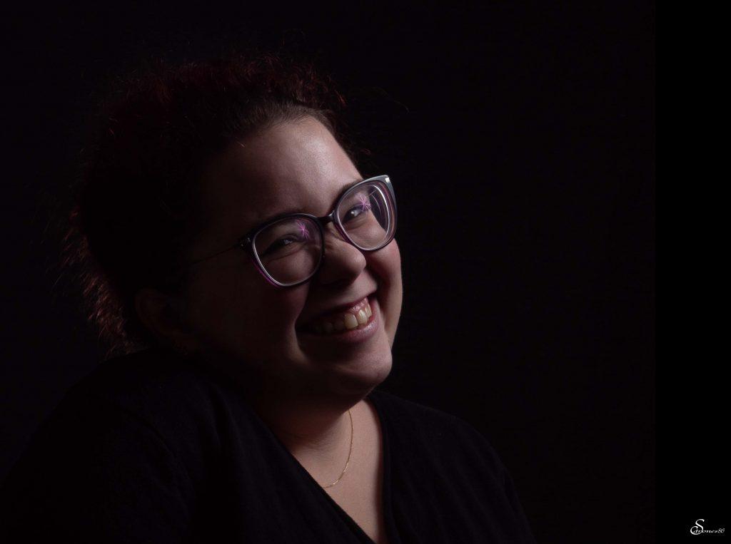 Portrait femme studio