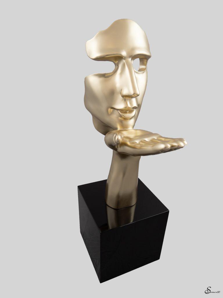 Packshot statuette