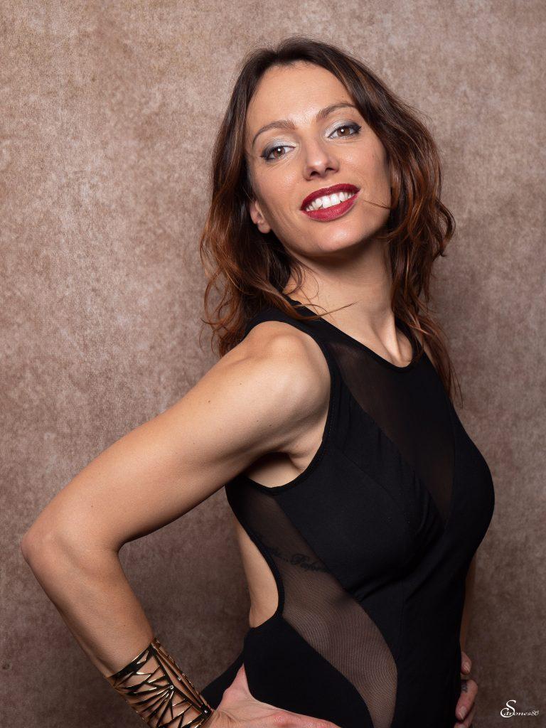 Portrait de femme en studio
